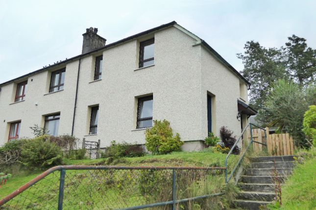 Thumbnail 3 bed flat for sale in Argyll Terrace, Fort William