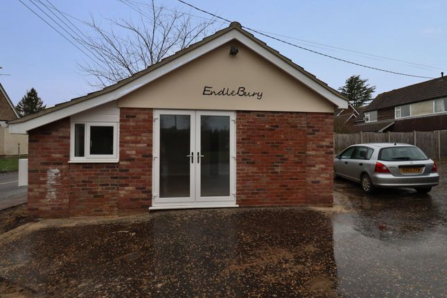 1 bed detached bungalow to rent in The Lodge, Endlebury, Scole IP21