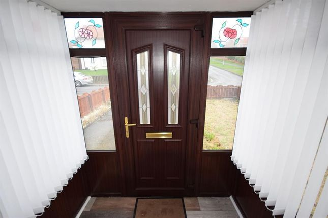 Entrance Porch of Mansell Crescent, Peterlee, County Durham SR8