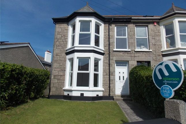 Thumbnail Semi-detached house for sale in Pednandrea, Redruth