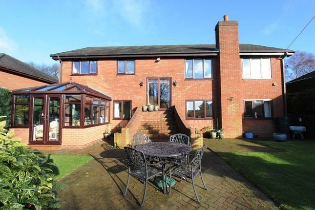 Thumbnail Detached house for sale in Mucklestone Wood Lane, Loggerheads, Market Drayton