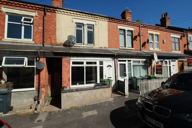 Thumbnail Terraced house for sale in Reginald Road, Smethwick