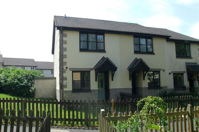 Thumbnail End terrace house to rent in Kes Tor Close, Okehampton