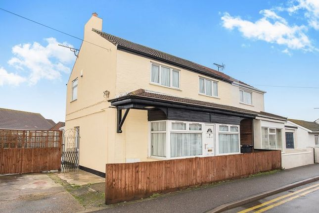 Thumbnail Semi-detached house for sale in Golf Road, Mablethorpe