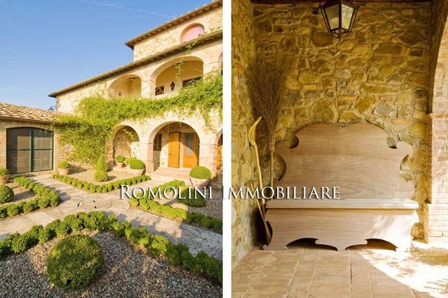 Historic Farmhouse With Univaled View Over The Chianti Hills