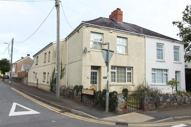 Thumbnail Semi-detached house for sale in Ammanford Road, Llandybie, Ammanford