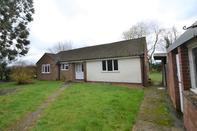 Thumbnail Detached bungalow to rent in Woolding Cottage, Whitchurch