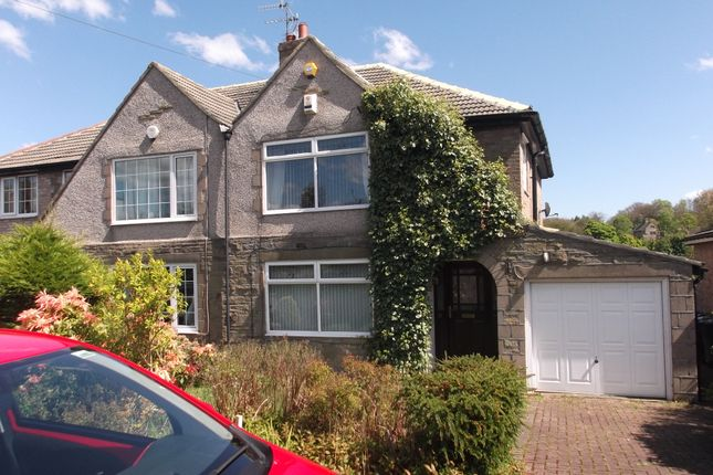 Thumbnail Semi-detached house to rent in Shay Drive, Bradford