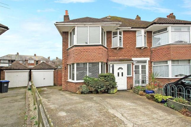 Thumbnail Semi-detached house for sale in Douglas Close, Worthing, West Sussex