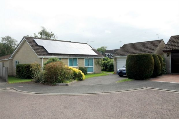 Thumbnail Detached bungalow for sale in Penn Drive, Frenchay, Bristol