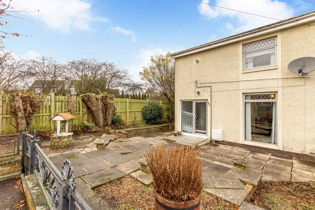 Thumbnail End terrace house for sale in Langside Gardens, Polbeth