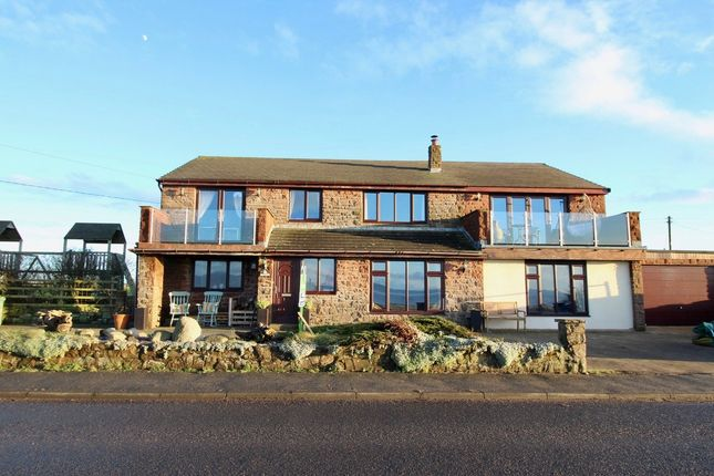 Thumbnail Detached house for sale in Beckfoot, Silloth, Wigton, Cumbria