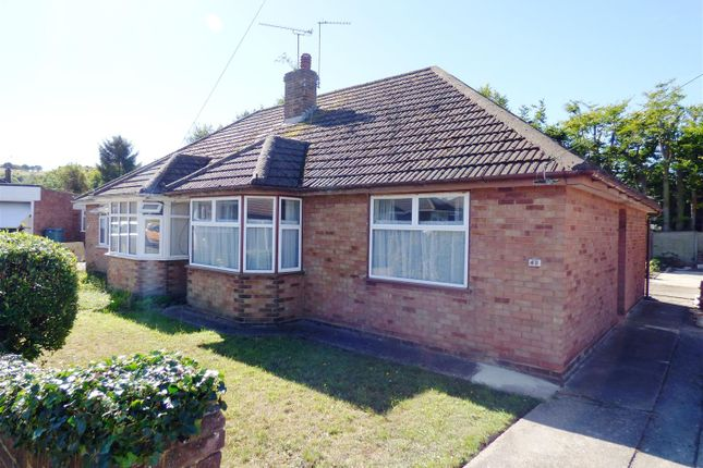 Thumbnail Semi-detached bungalow for sale in Marina Drive, Dunstable