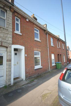 Thumbnail Terraced house to rent in Bursledon Road, Southampton