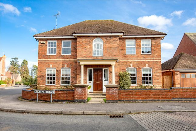 Thumbnail Detached house for sale in Hawthorne Close, Stretton Hall, Oadby, Leicester