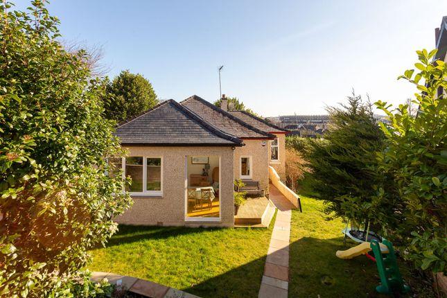 Thumbnail Detached bungalow for sale in Belmont Crescent, Edinburgh