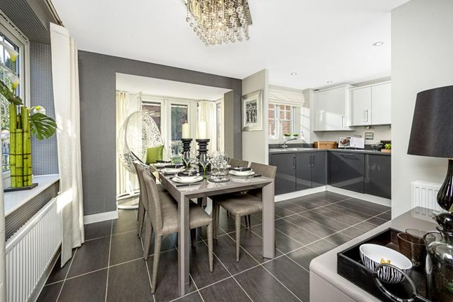 """Thumbnail Semi-detached house for sale in """"Hexham"""" at Walworth Road, Picket Piece, Andover"""