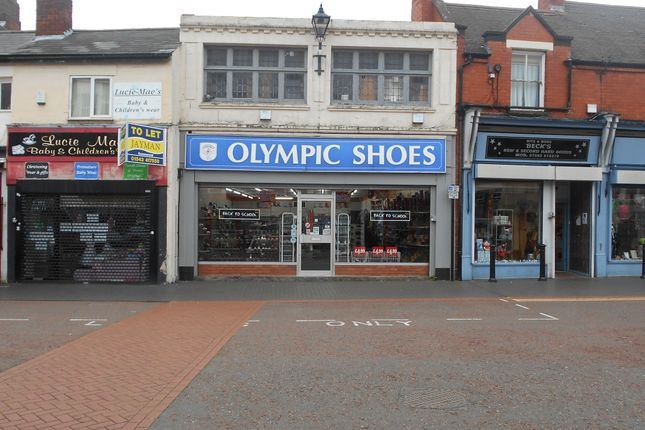 Retail premises for sale in Market Place, Willenhall