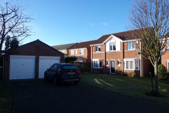 Thumbnail Detached house for sale in Ayton Court, Bedlington