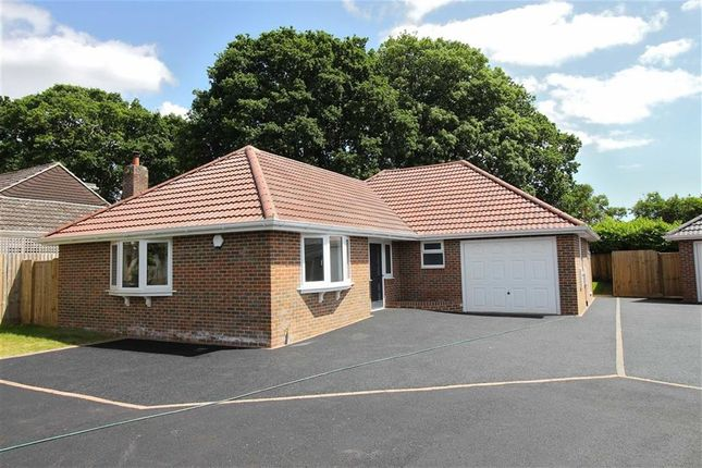 Thumbnail Detached bungalow for sale in Amberwood Drive, Walkford, Christchurch