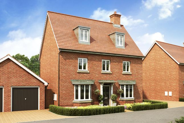 "Thumbnail Detached house for sale in ""Emerson"" at Rush Lane, Market Drayton"
