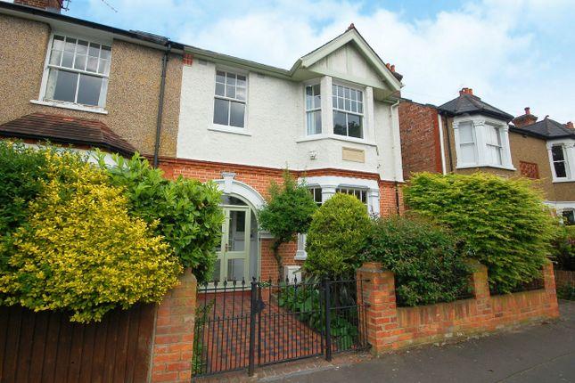Thumbnail Semi-detached house for sale in Tudor Road, Hampton