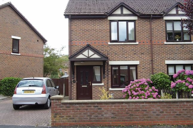 Thumbnail Semi-detached house for sale in Hazeldene, Westhoughton, Bolton