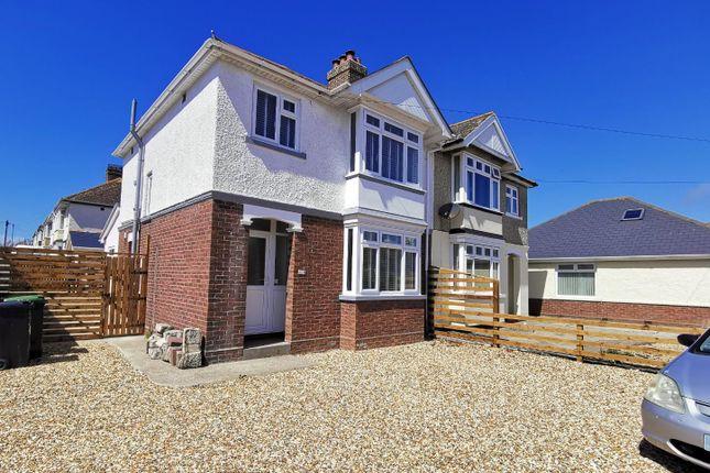 3 bed semi-detached house to rent in Portland Road, Wyke Regis, Weymouth DT4