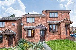 2 bed semi-detached house to rent in Chatteris Drive, Oakwood, Derby DE21