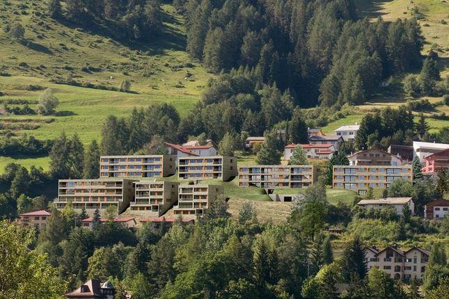 Development  of Scuol - Lower Engadine, Grisons, Switzerland