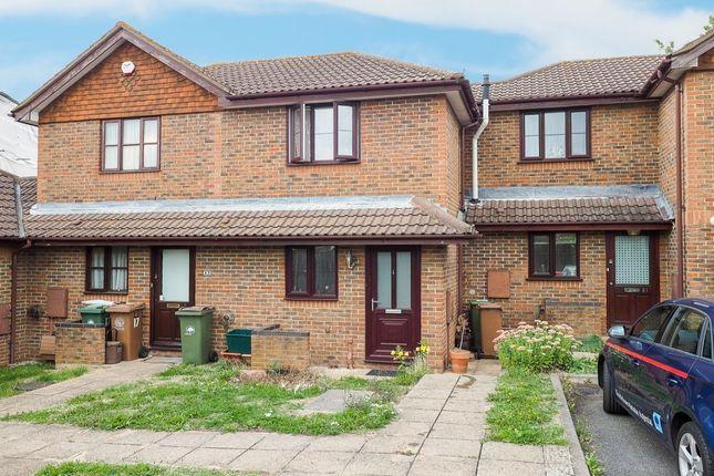 Thumbnail Terraced house for sale in Cobham Close, Wallington