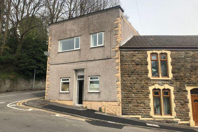Thumbnail End terrace house for sale in Salem Road, Plasmarl