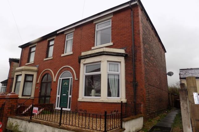 Thumbnail Semi-detached house to rent in Beechwood Road, Chorley