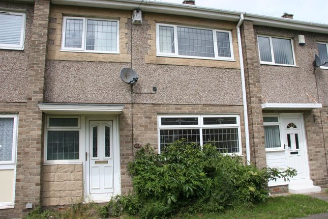 Thumbnail Terraced house to rent in St Albans Close, Ashington