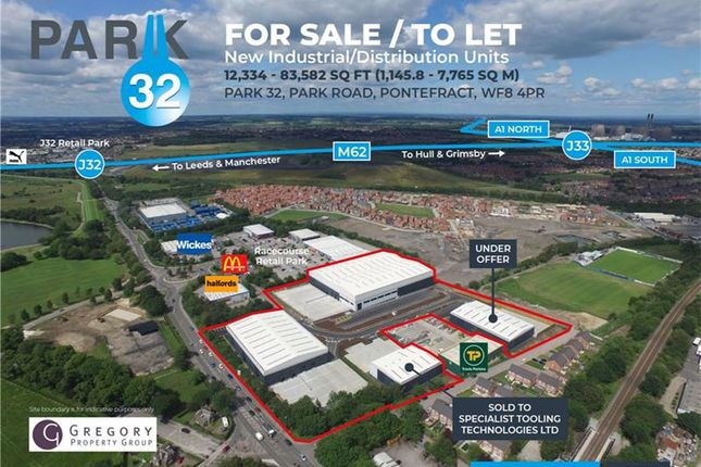 Thumbnail Warehouse to let in Park 32, Park Road, Pontefract, West Yorkshire, UK