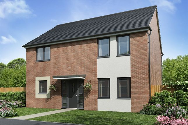 "Detached house for sale in ""The Lowery"" at Sir Bobby Robson Way, Newcastle Upon Tyne"