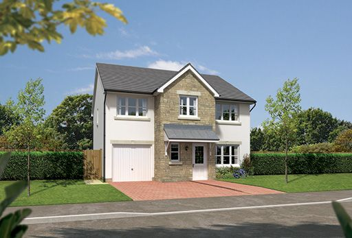"Thumbnail Detached house for sale in ""Heddon"" at Colinhill Road, Strathaven"