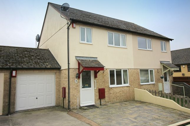Thumbnail Semi-detached house for sale in Chapel Road, Latchbrook, Saltash