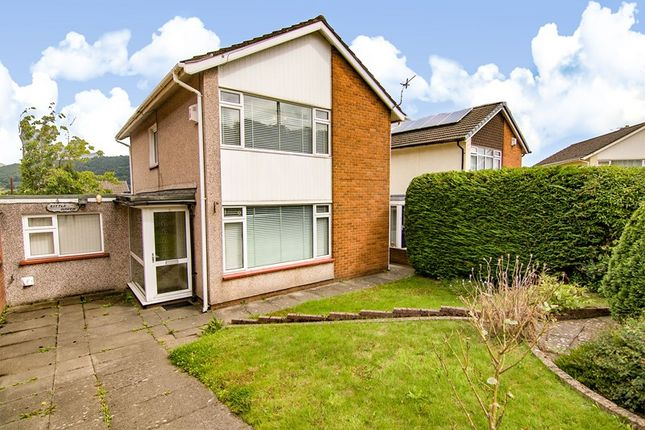 Thumbnail Detached house for sale in Basildene Close, Gilwern, Abergavenny