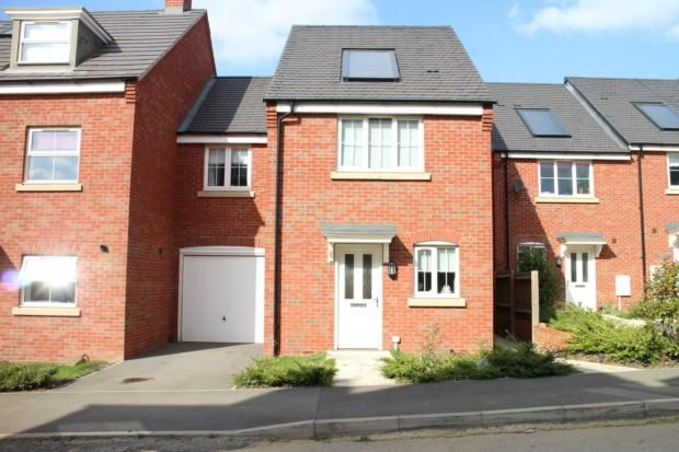 Thumbnail End terrace house to rent in Tyne Way, Rushden