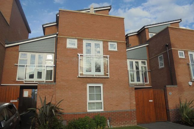 Thumbnail Terraced house to rent in The Moorings, Coventry