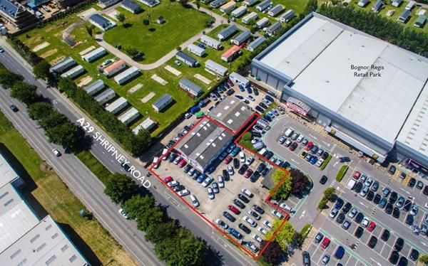 Thumbnail Commercial property for sale in Bognor Garage Car Sales, Shripney Road, Bognor Regis