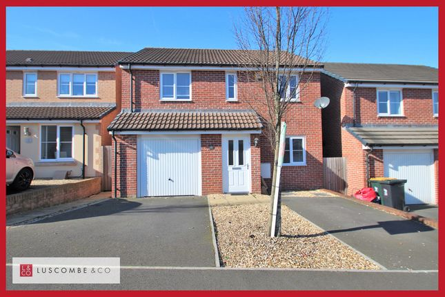 Thumbnail Detached house to rent in Bailey Crescent, Langstone, Newport