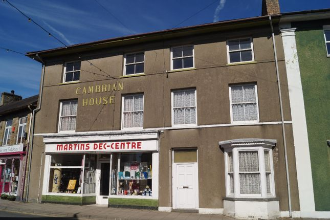Thumbnail Town house for sale in Cambrian House And Shop, Sycamore Street, Newcastle Emlyn