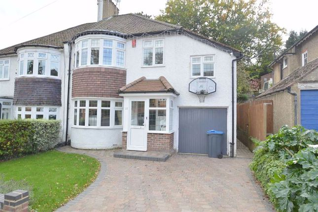 Thumbnail Semi-detached house for sale in The Vale, Coulsdon, Surrey