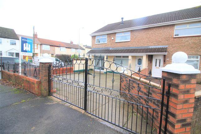 Thumbnail Semi-detached house for sale in Brunswick Close, Walton, Liverpool