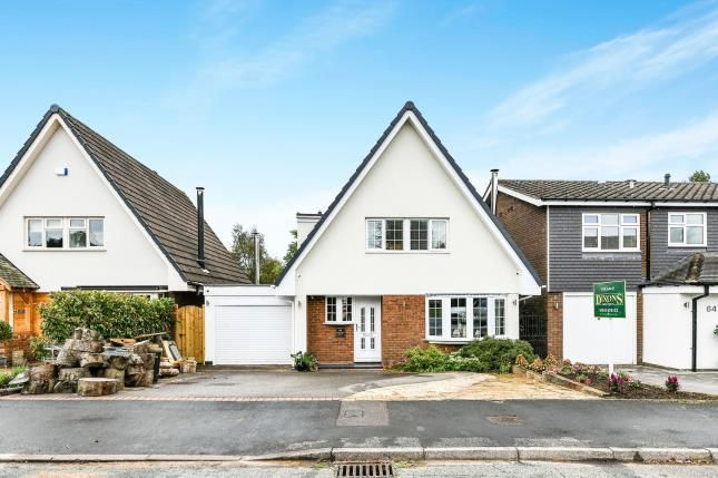 Thumbnail Detached house for sale in Severn Drive, Burntwood, Staffordshire