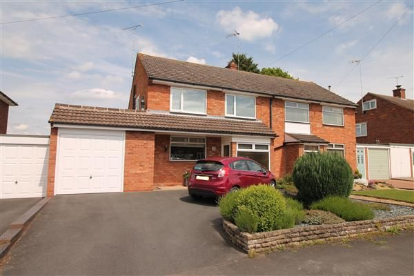 Thumbnail Semi-detached house for sale in Throckmorton Road, Alcester