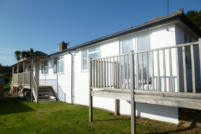 Thumbnail Detached bungalow for sale in The Parade, Mousehole, Penzance