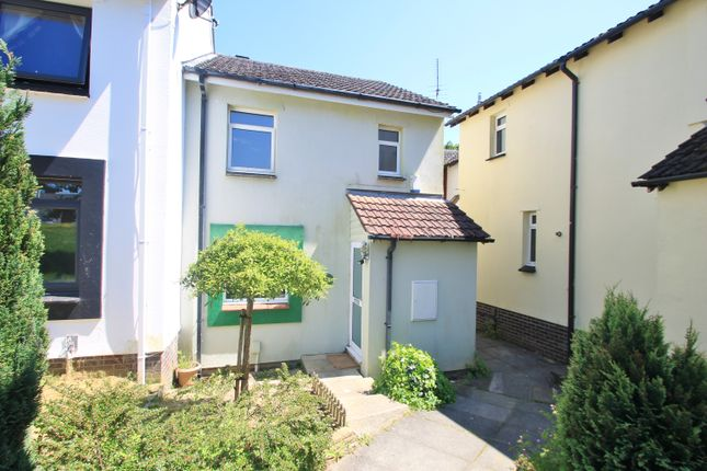 Thumbnail End terrace house for sale in The Green, Lower Burraton, Saltash